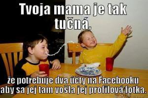 Tvoje máma