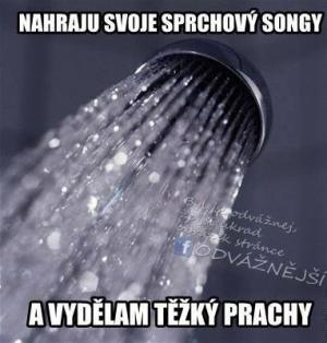 Sprchový songy