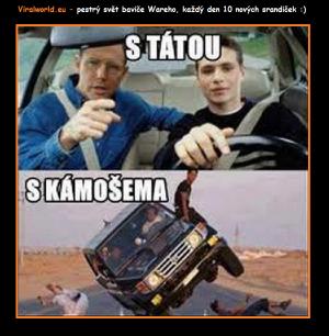 Jak řídím auto