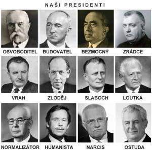 Všichni čeští prezidenti