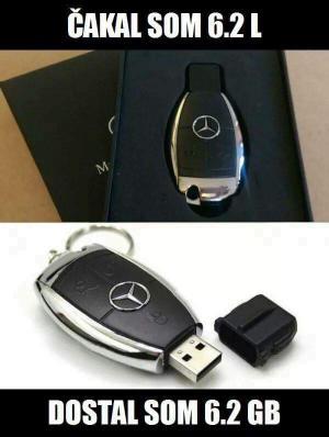 Když dostaneš klíče od Mercedesu