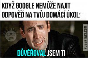 Když i Google selže