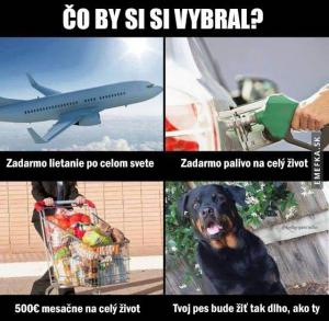 Co bys vybral?