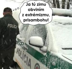 Extrémní zima