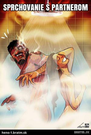 Sprcha s partnerem
