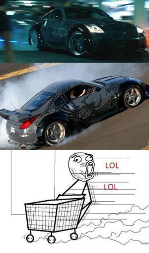 Řidič jako ve filmu