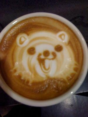 Medvěd v kafi
