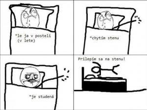 Spánek v létě
