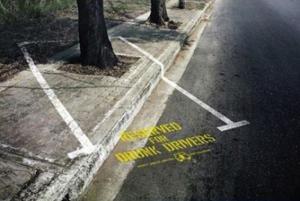 Rezervováno pro opilé řidiče