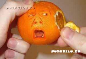 Loupání pomeranče