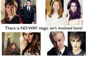Vývoj postav z Harryho Pottera