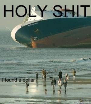 Našla jsem dolar!