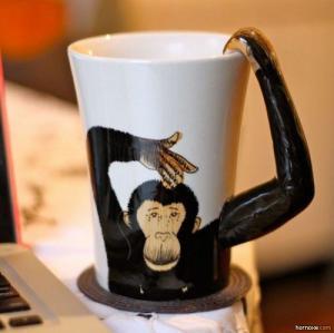 Opičí hrnek