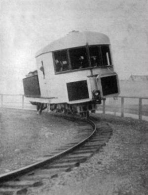 Jednokolejná železnice