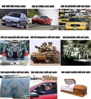 Jak vidí mé auto