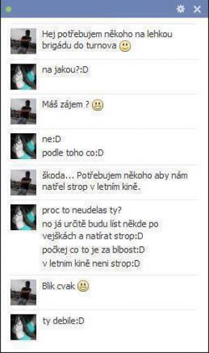 Facebookový Chat