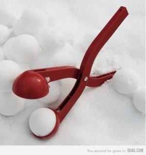 Stroj na sněhové koule