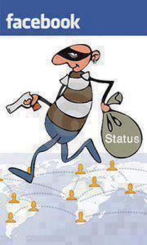 Facebookový zloději