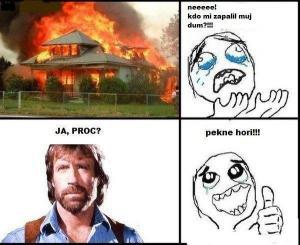 Chuck pyroman