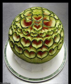 Vyřezávaný meloun