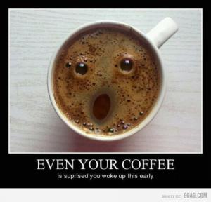 Káva - dobré ráno