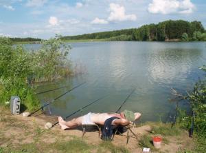 Pohoda při rybaření