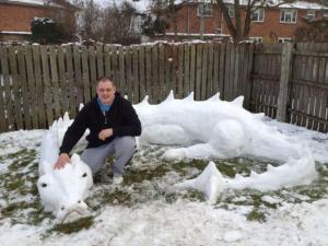 Tak trochu jiný sněhulák