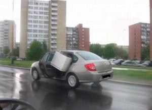 Přeprava autem