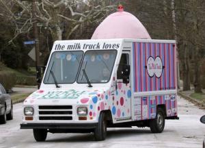 Auto na mléko