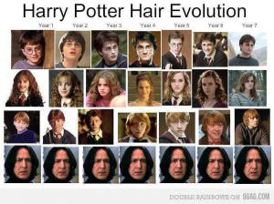 Evoluce Harryho Pottera