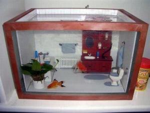 Domeček pro rybičky