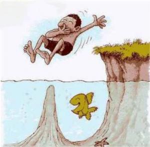 Zlomyslná rybka!