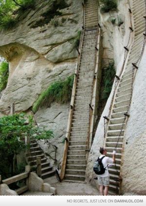 Prudké schody