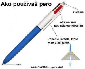 Jak jinak využívat pero na psaní