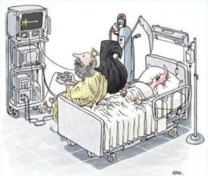 Smrtka vs. bůh