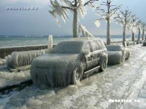 Krutá zima
