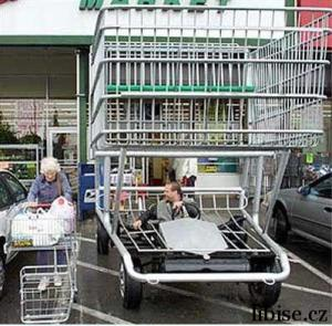 Jde se nakupovat