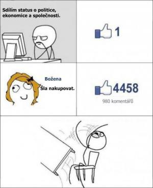 Statusy na facebooku