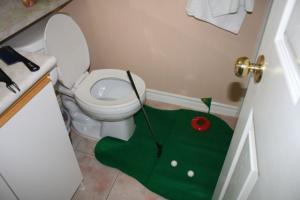 Záchodový mini-golf