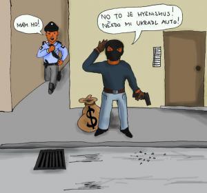 Zloděj okrádá zloděje