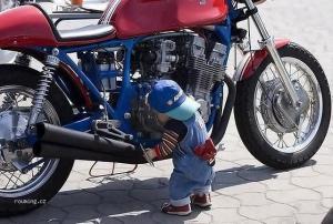 Malý motorkář