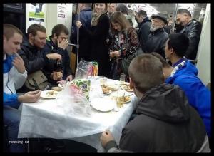 Večeře v metru