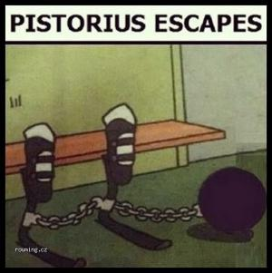 Pistorius utekl