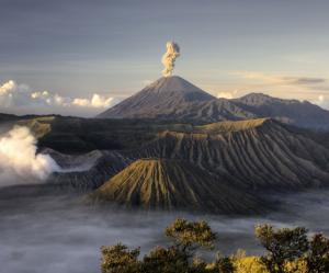 Země - sopka