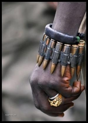 Africký náramek
