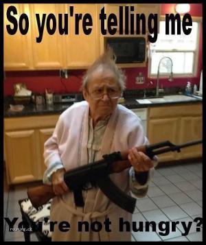 Opravdu nemáš hlad?