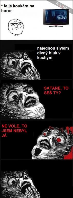 Satane, jseš to ty?