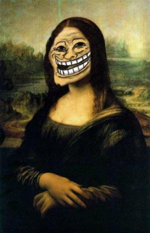 Mona Lisa Trol