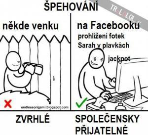 Realita vs Facebook