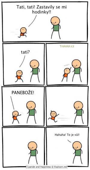 Tatínek trollista